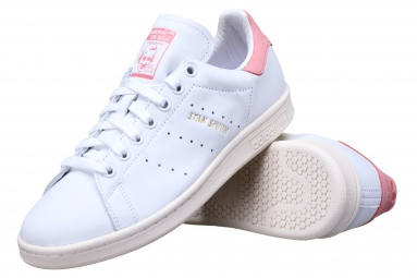 Stan Smith S80024 Blanc/Rose