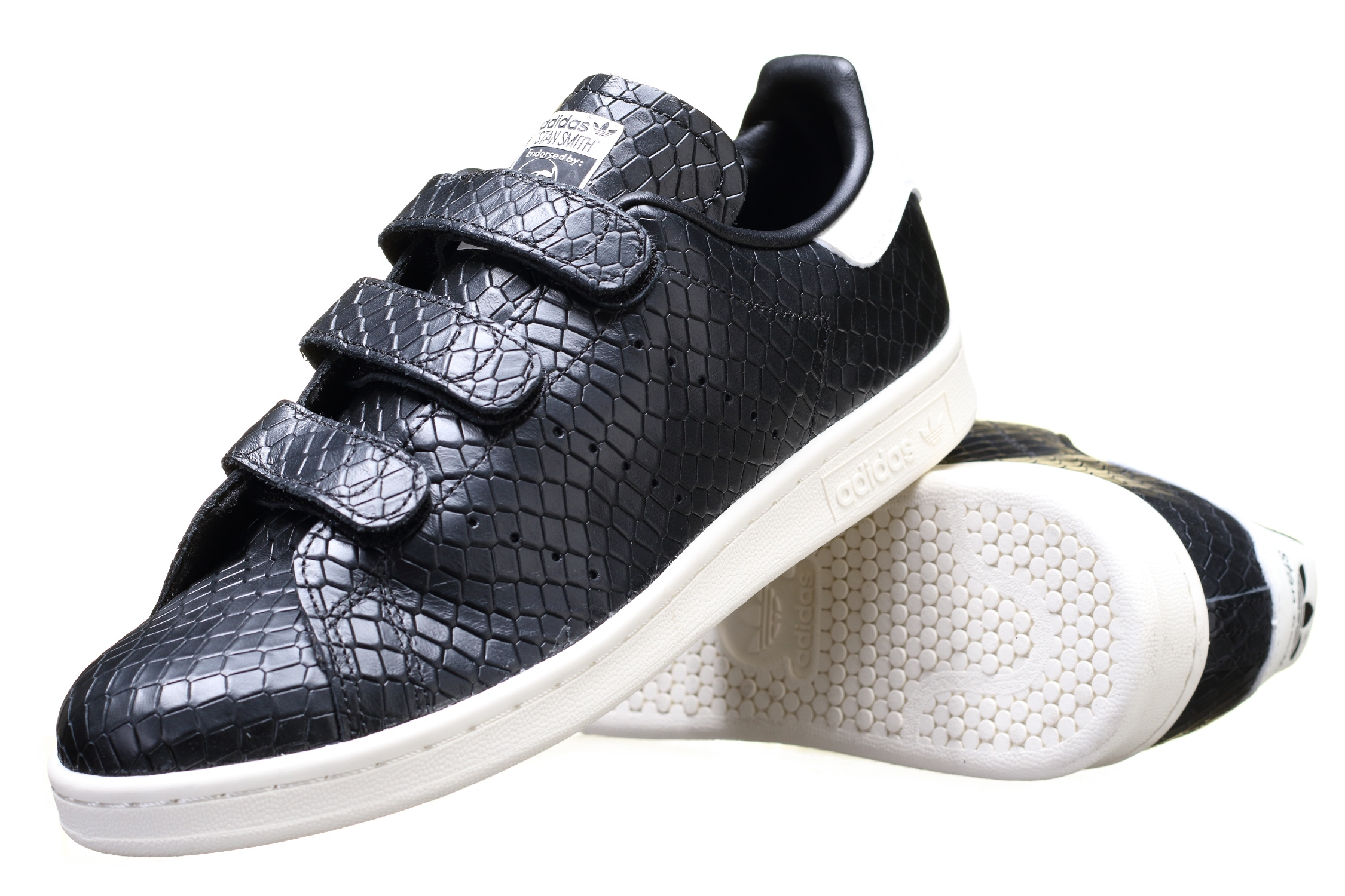 adidas stan smith noir croco
