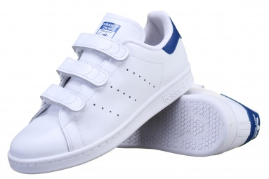 Stan Smith Cf S80042 Blanc/Bleu