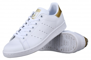 Stan Smith J Bb0209 Blanc/Or