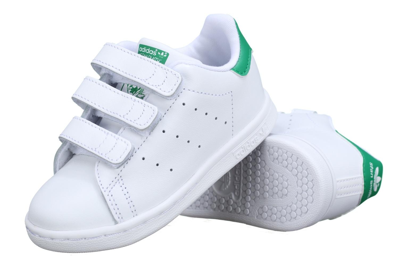 the best attitude b5d63 de9f0 Accueil   Enfant Garçon Chaussures garçon Basket garçon Stan Smith Cf I  Bz0520 Blanc   Vert. http   www.leadermode.com 138509 adidas-stan-