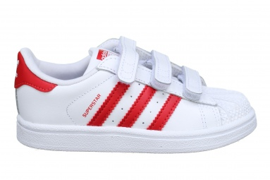 Superstar Cf I Cg6639 Blanc/rouge