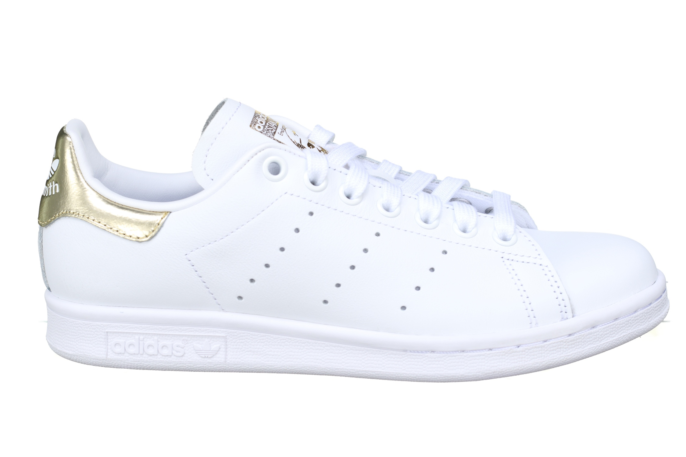 Smith femme Basket Adidas Stan Leader W Ee8836 Doree Blanc