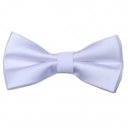 Noeud Papillon Uni Blanc