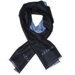 Foulard Uni 1 Noir/bleu