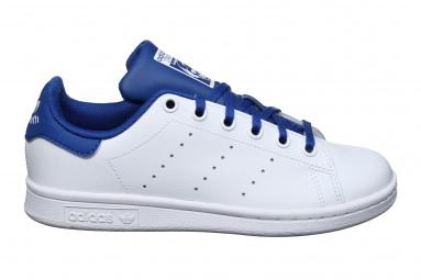 Stan Smith J Fw4492 Blanc/bleu