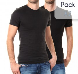 Pack Col Rond*2 Noir