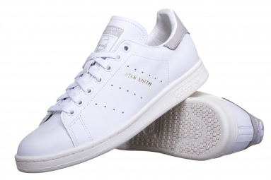 Stan Smith S75075 Blanc/Granite