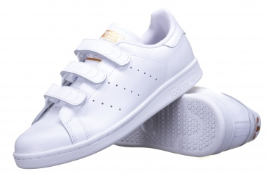 Stan Smith Cf S75188 Blanc/Or