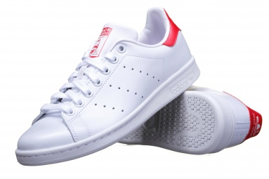 Stan Smith M20326 Blanc/Rouge
